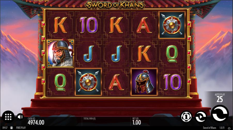 sword of khans screenshot