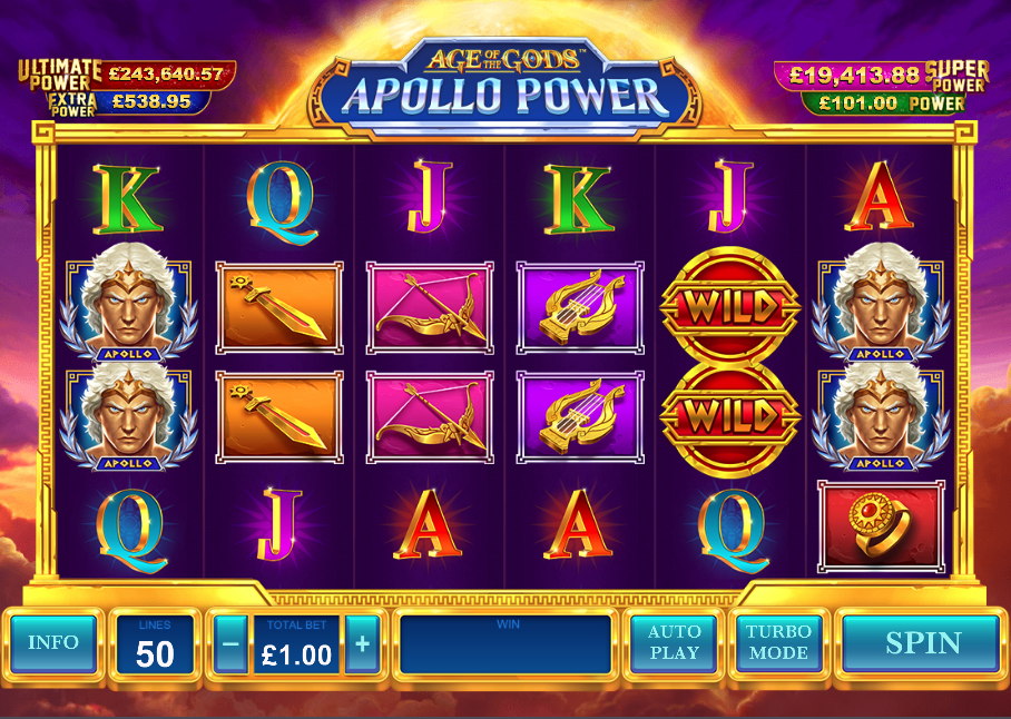 Spiele Age Of The Gods: Apollo Power - Video Slots Online