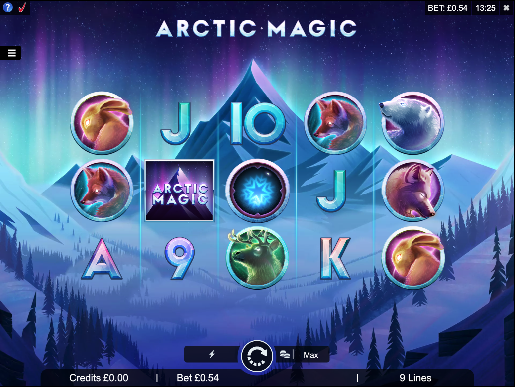 arctic magic screenshot