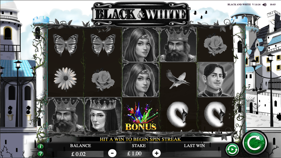 Spiele Black And White - Video Slots Online