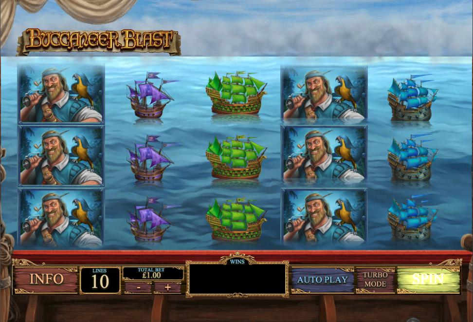 buccaneer blast screenshot