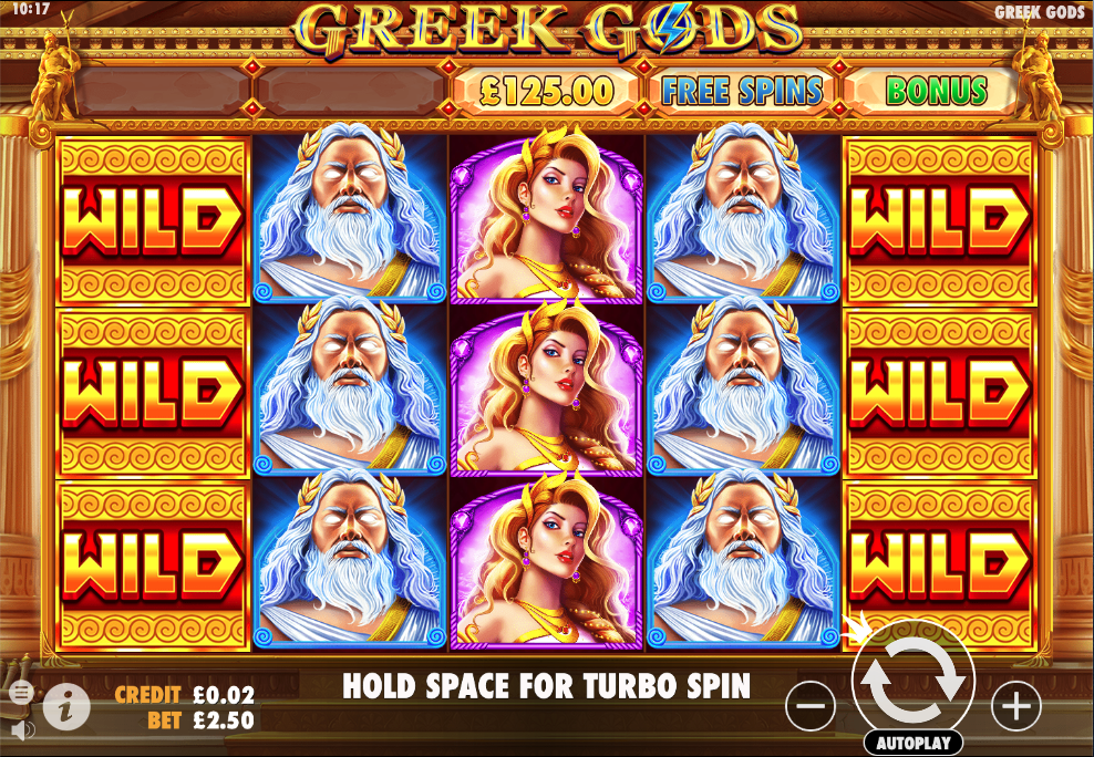 greek gods screenshot