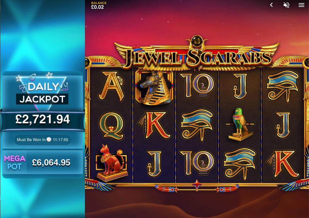 jewel scarabs screenshot