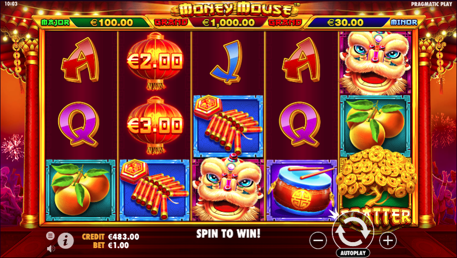 money mouse screenshot