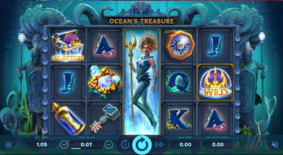 ocean's treasure screenshot