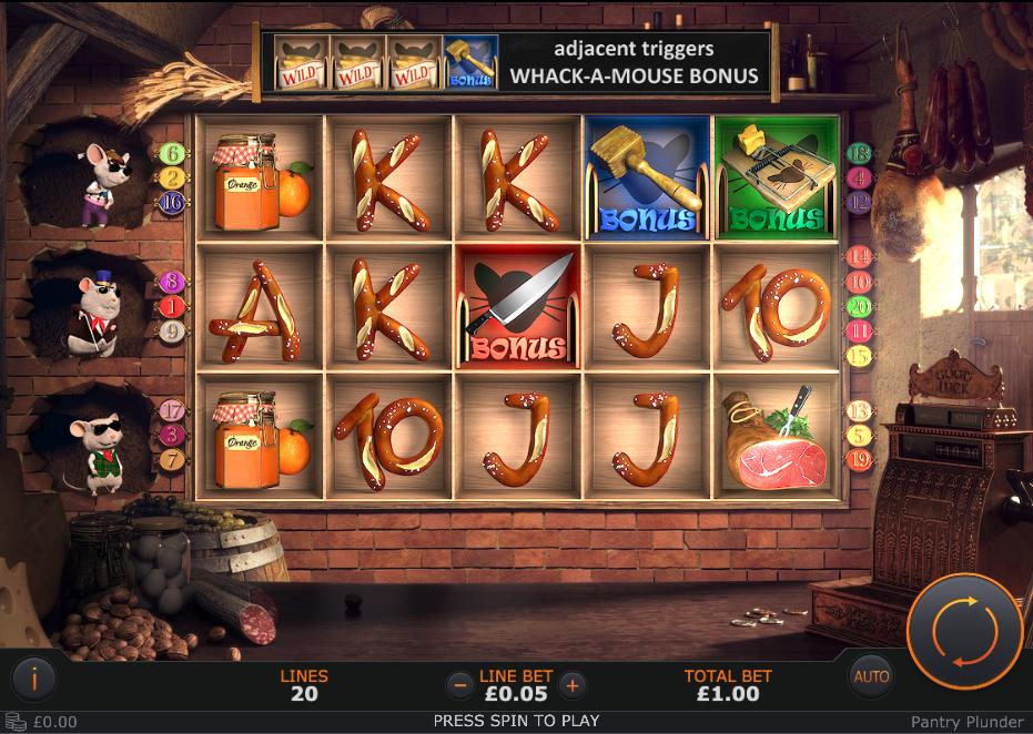 pantry plunder screenshot