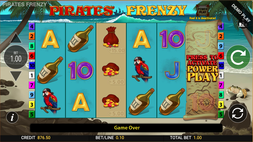 pirates frenzy screenshot