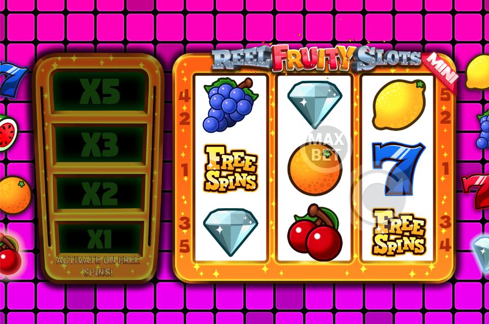 reel fruity slots mini screenshot