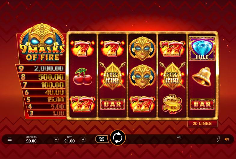 9 masks of fire screenshot