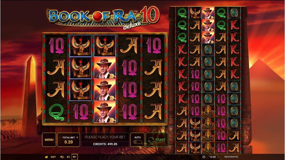 book of ra deluxe 10 screenshot