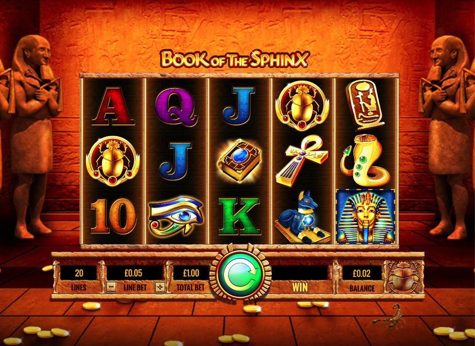 Spiele Book Of The Sphinx - Video Slots Online