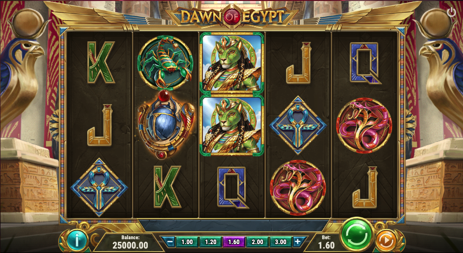 dawn of egypt screenshot