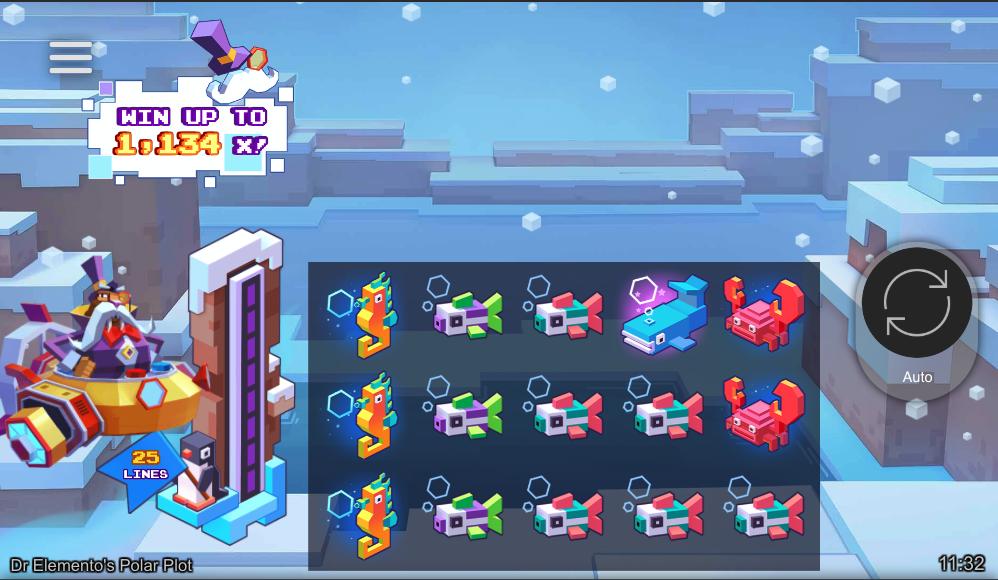 dr elementos polar plot screenshot