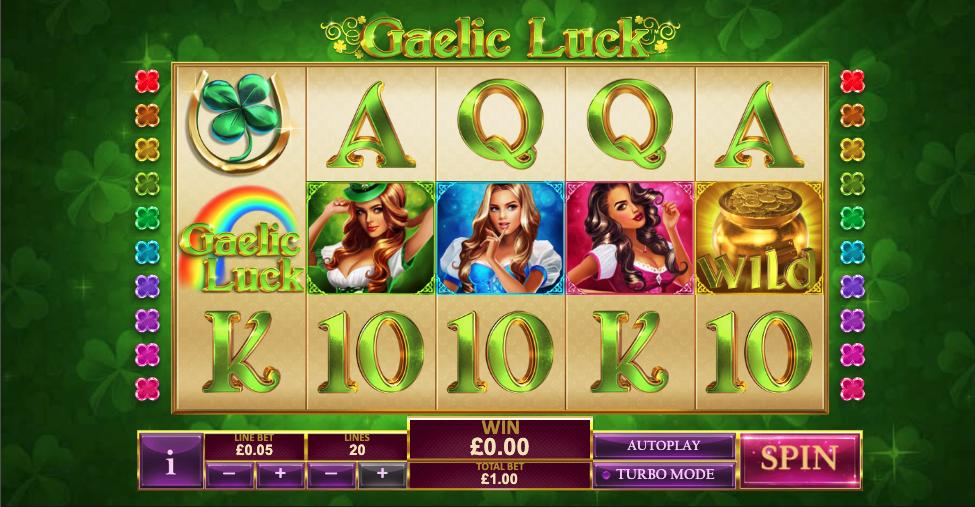 gaelic luck screenshot