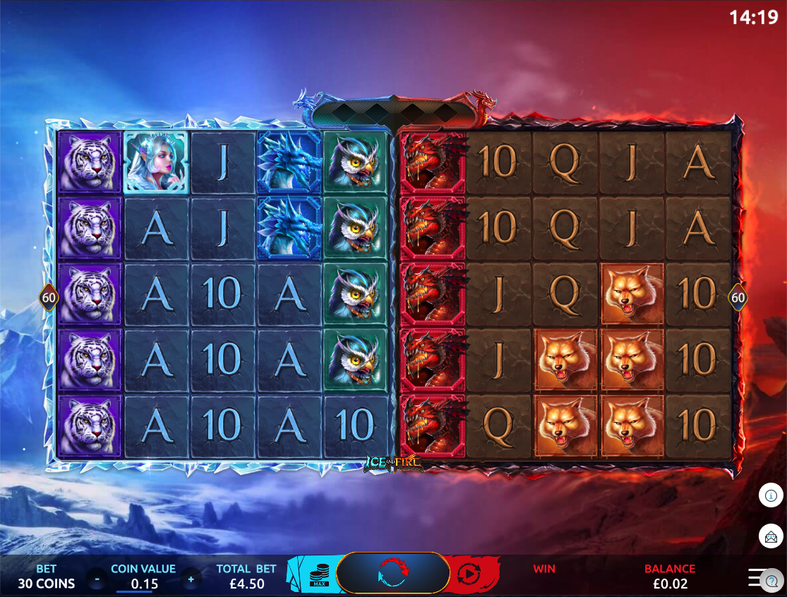 ice & fire screenshot