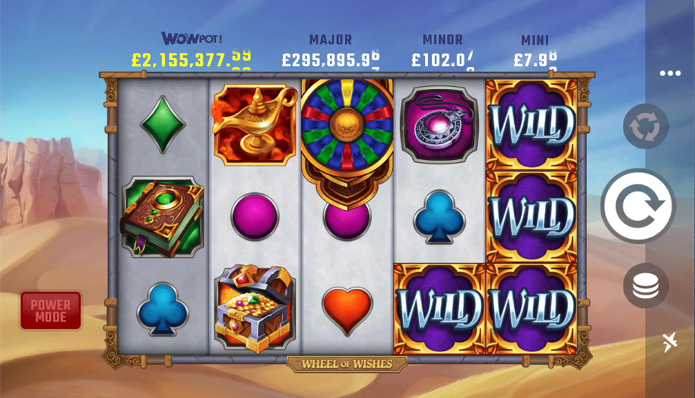 wheel of wishes screenshot