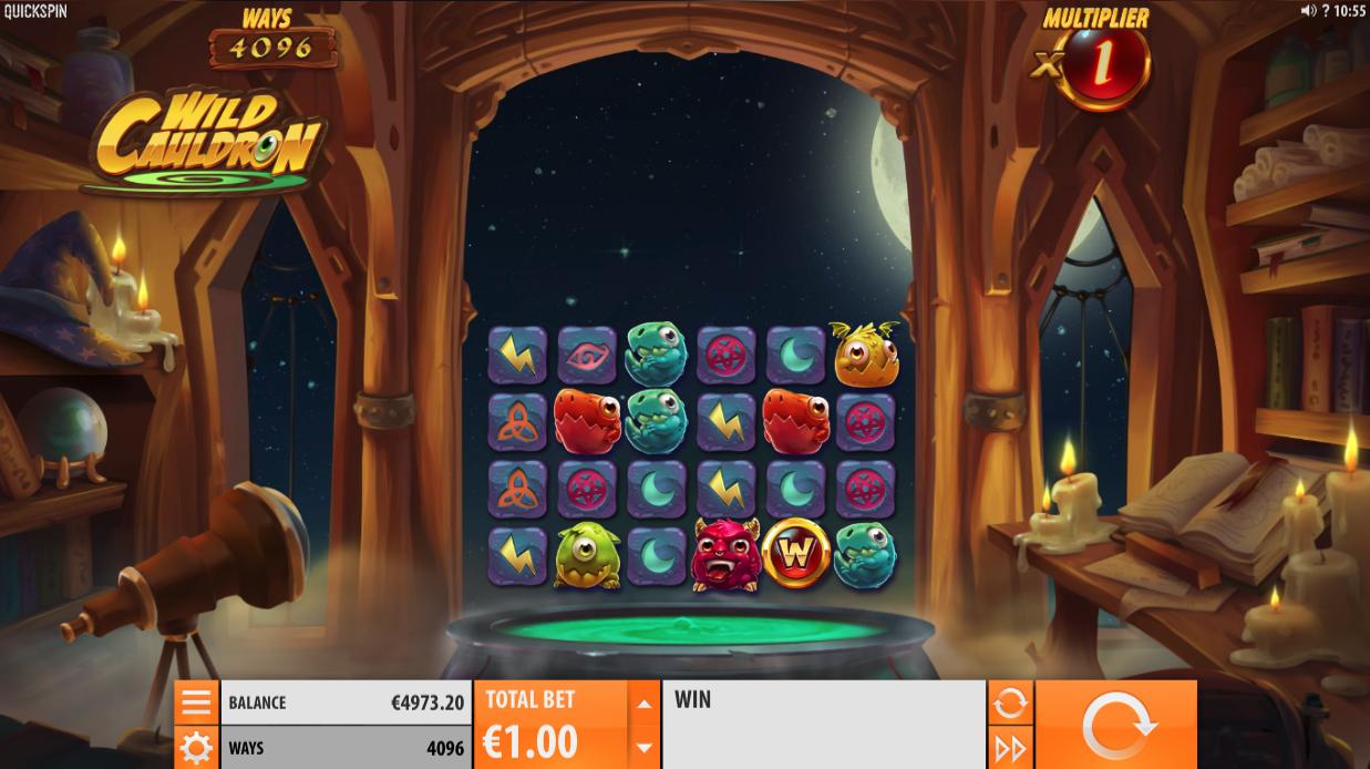 wild cauldron screenshot
