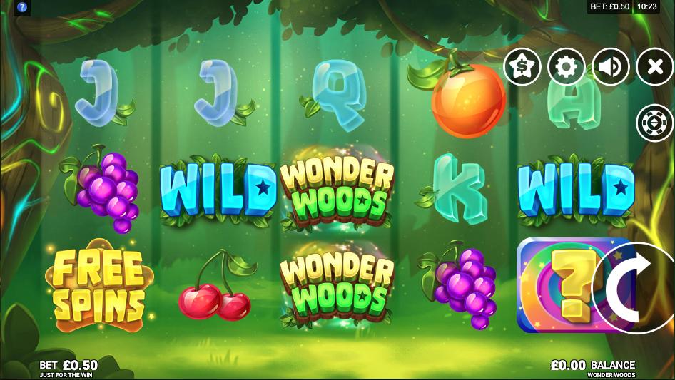wonder woods screenshot