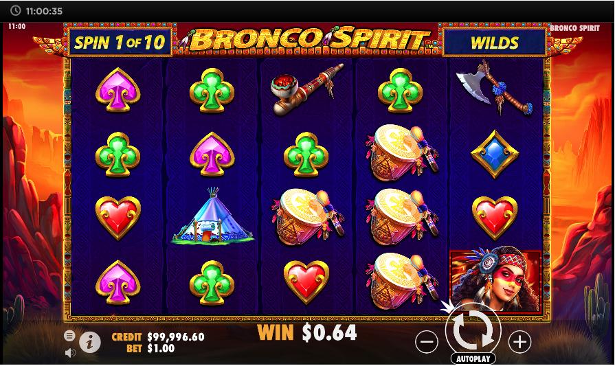 bronco spirit screenshot