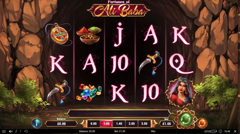 fortunes of ali baba screenshot