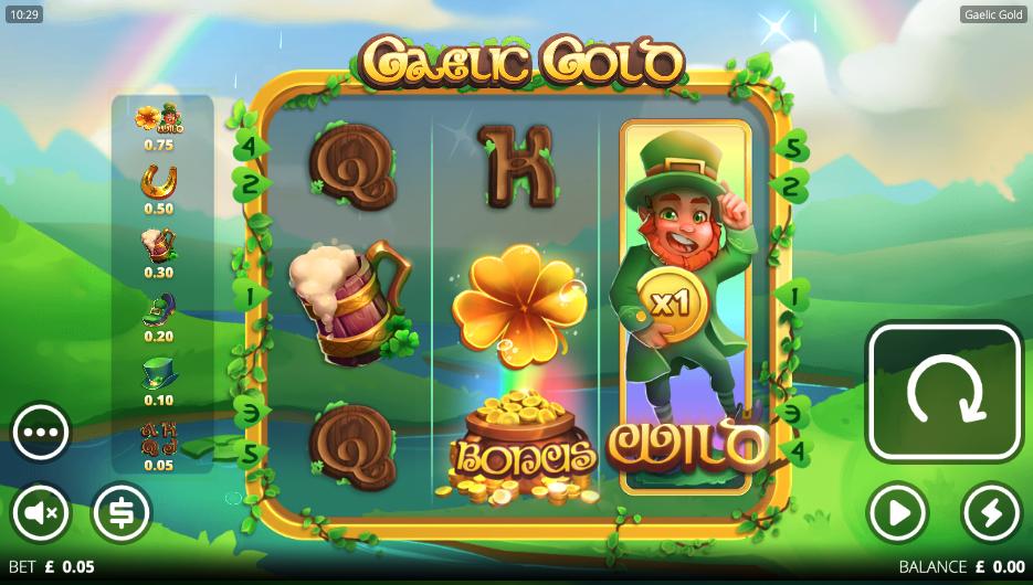 gaelic gold screenshot