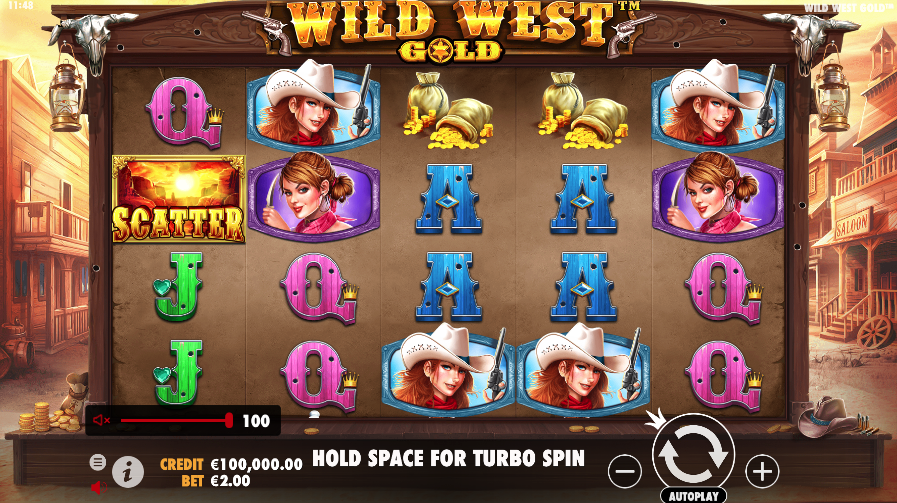 wild west gold screenshot