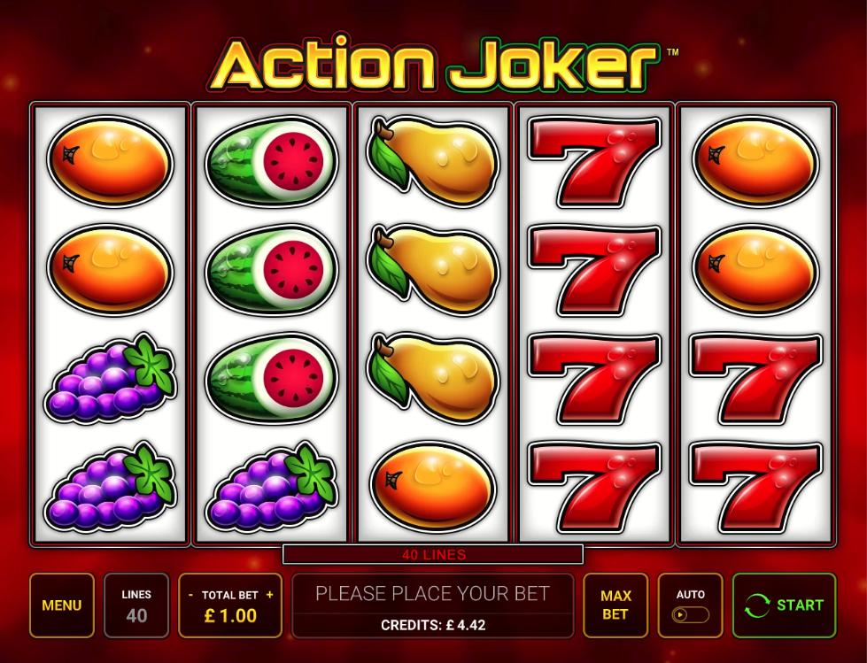 action joker screenshot