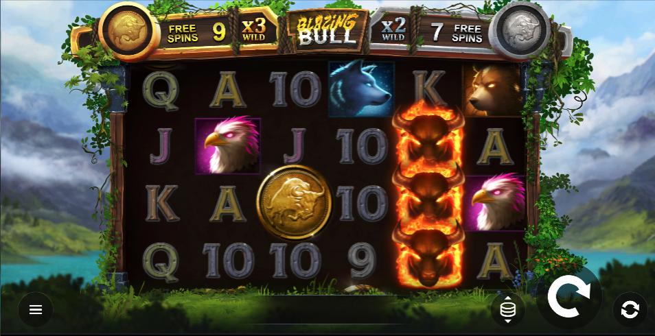blazing bull screenshot