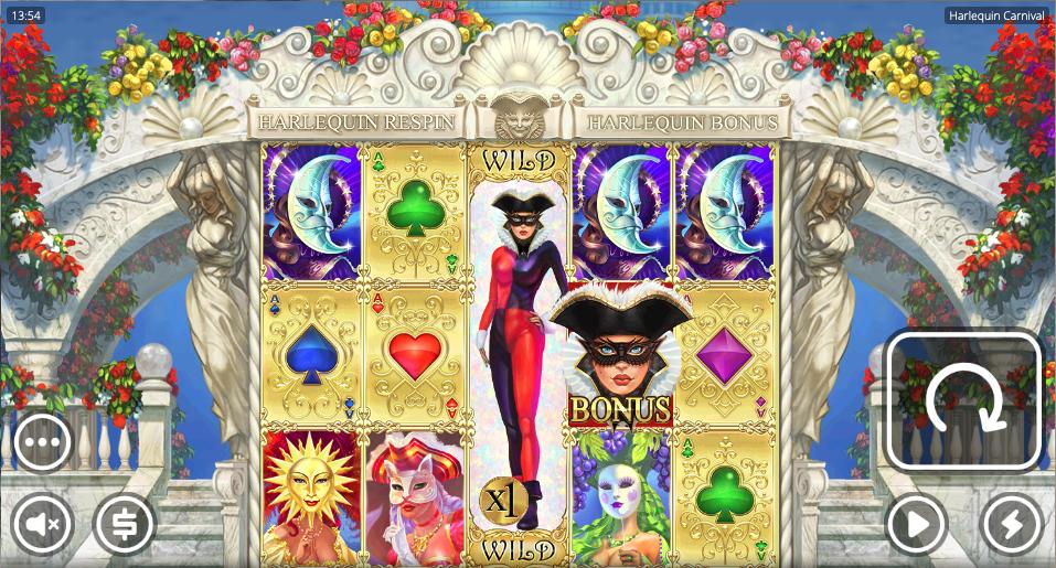 harlequin carnival screenshot