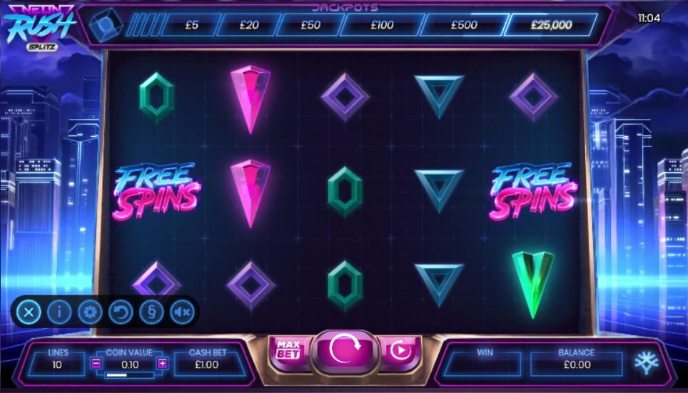 neon rush screenshot