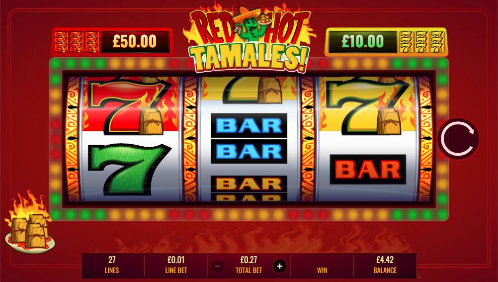 red hot tamales screenshot
