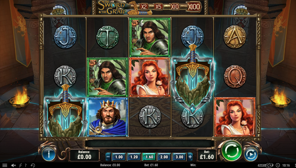 Spiele The Sword & The Grail - Video Slots Online