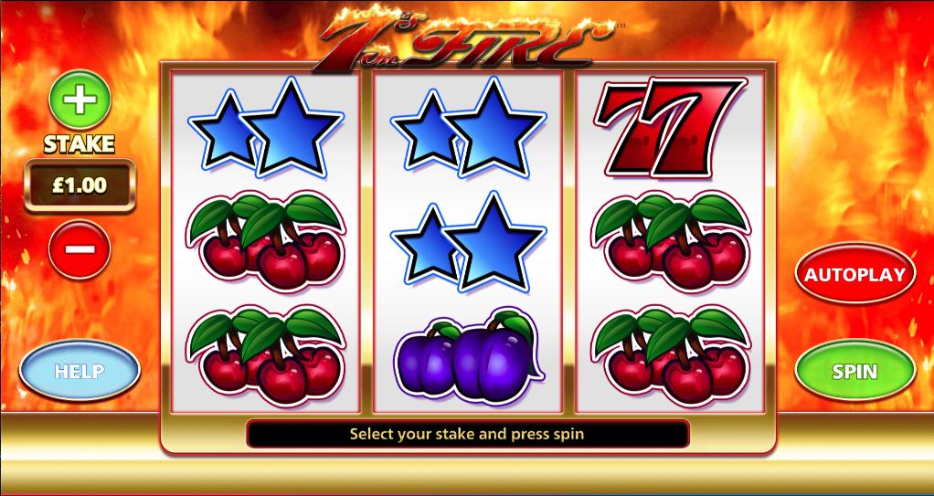 7s on fire screenshot