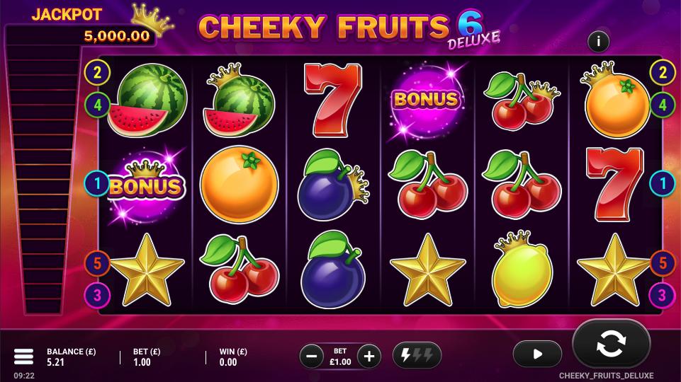 cheeky fruits 6 deluxe screenshot