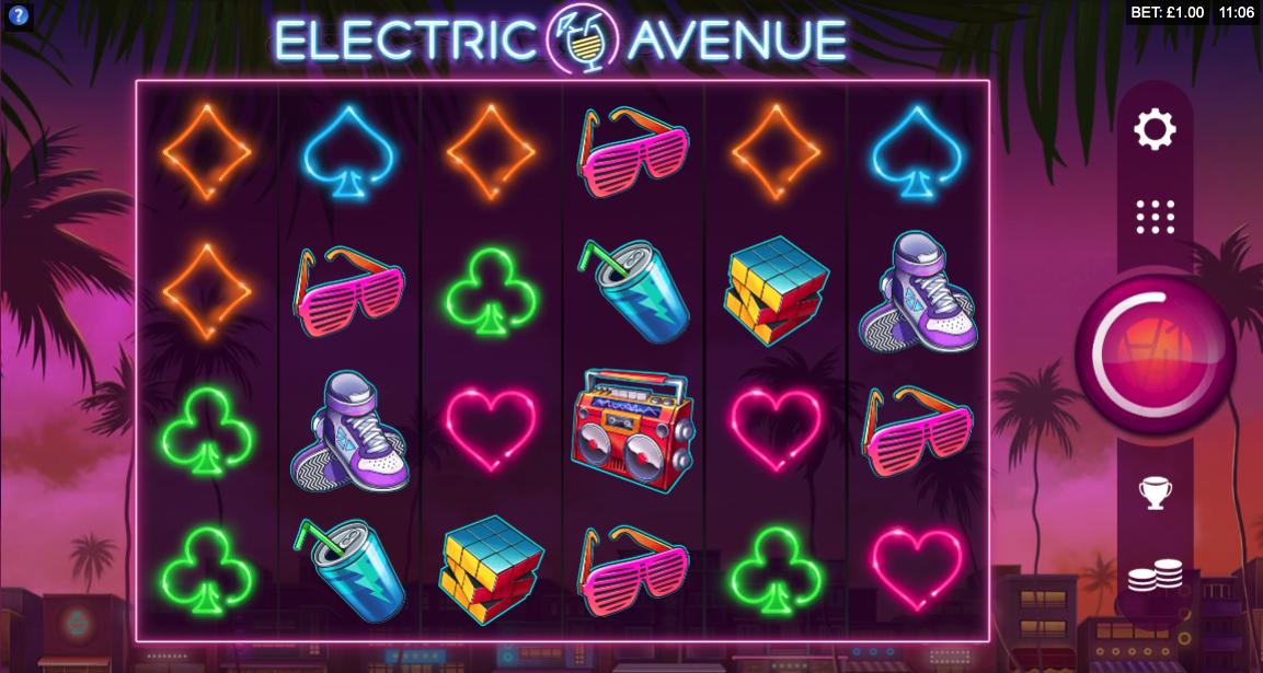 electric avenue screenshot