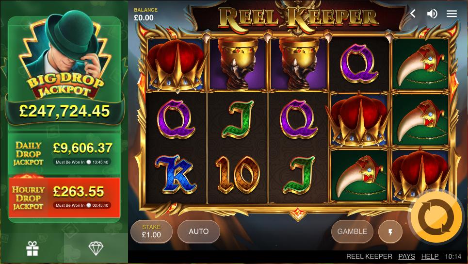 reel keeper screenshot