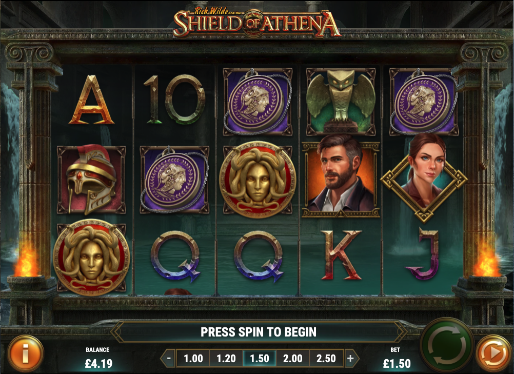 Rich Wilde and the Shield of Athena screenshot
