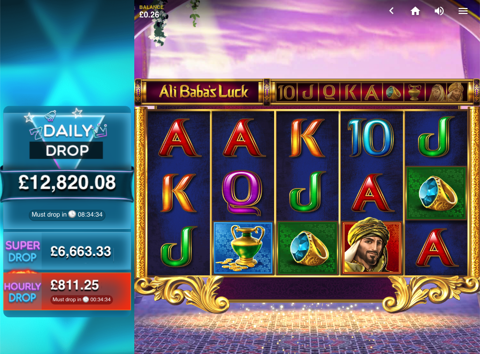 ali babas luck screenshot