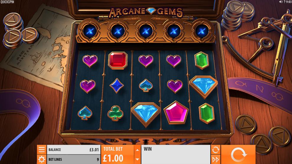 arcane gems screenshot