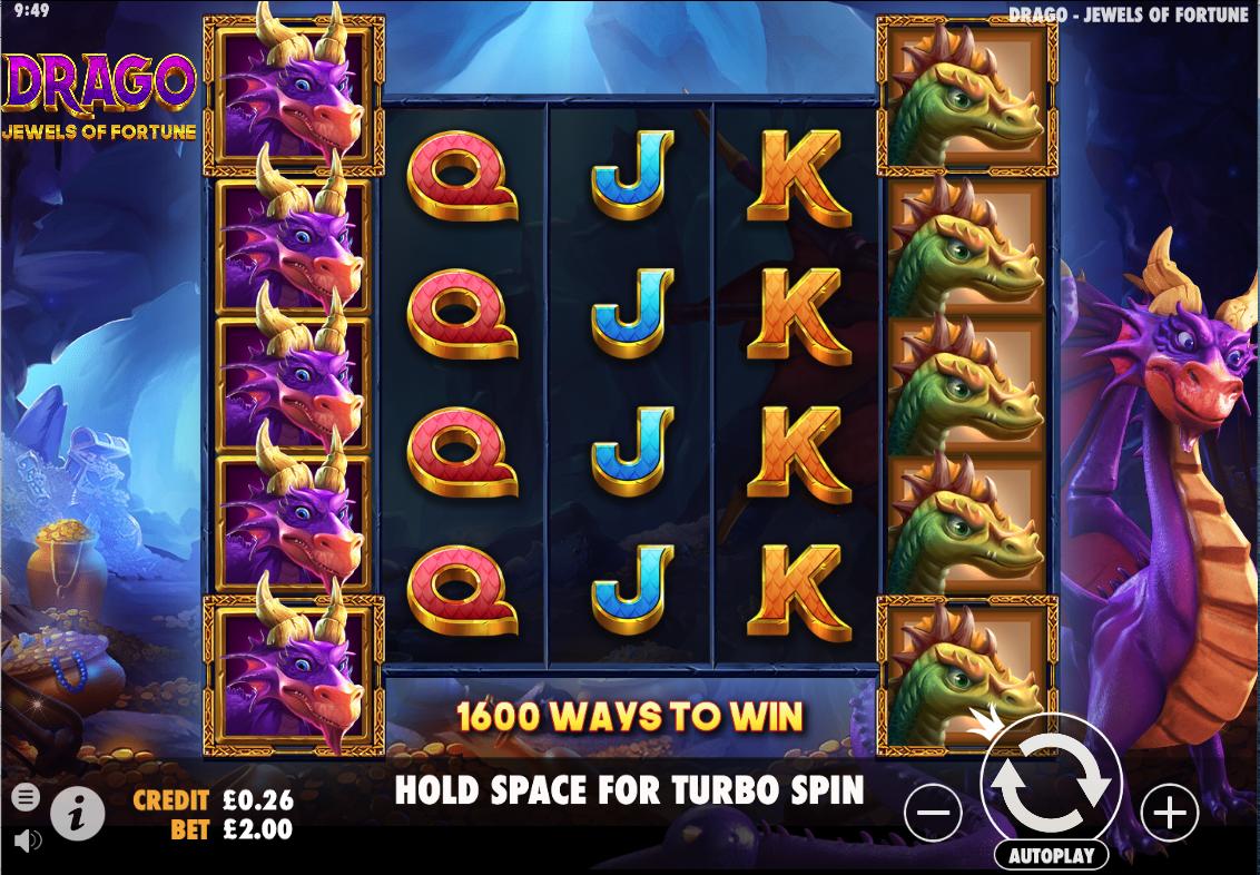 drago jewels of fortune screenshot