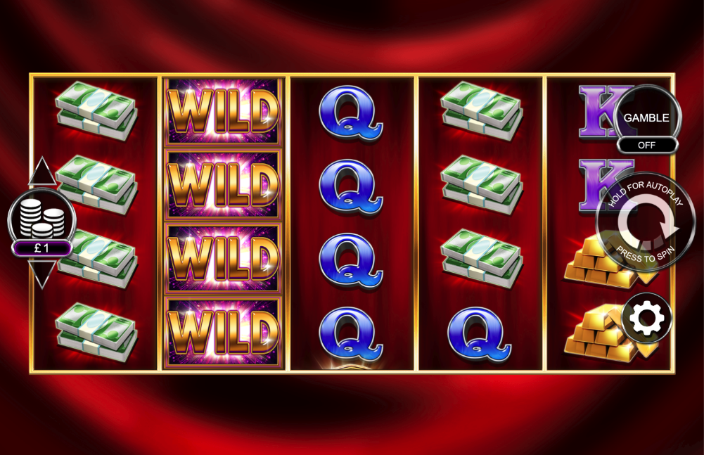 gold cash free spins screenshot