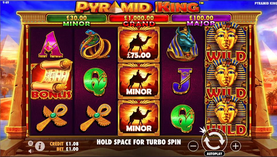 pyramid king screenshot