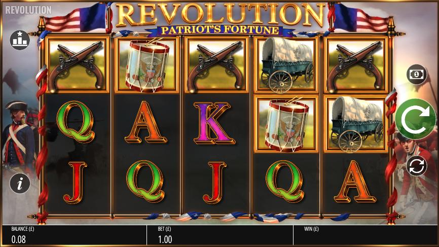 revolution patriots fortune screenshot