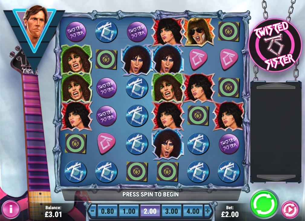 twisted sister screenshot