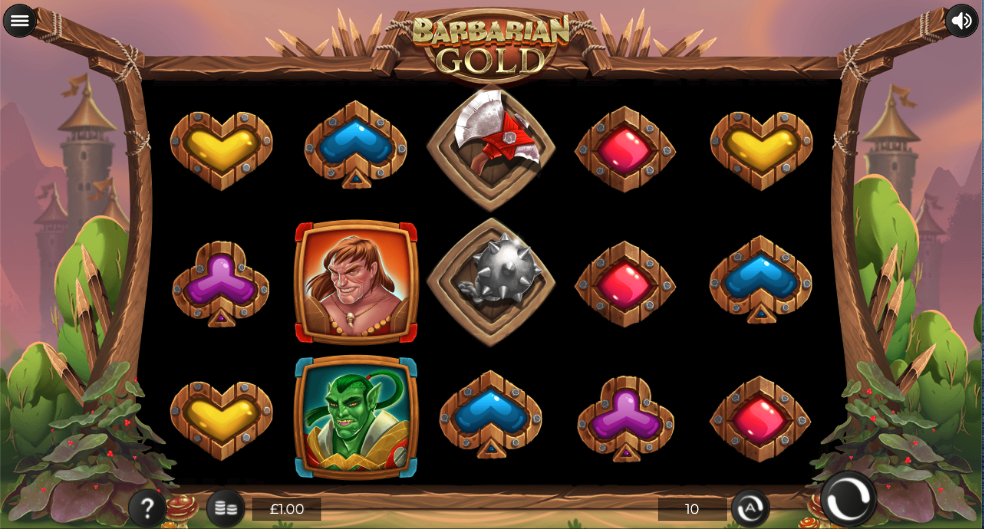 barbarian gold screenshot