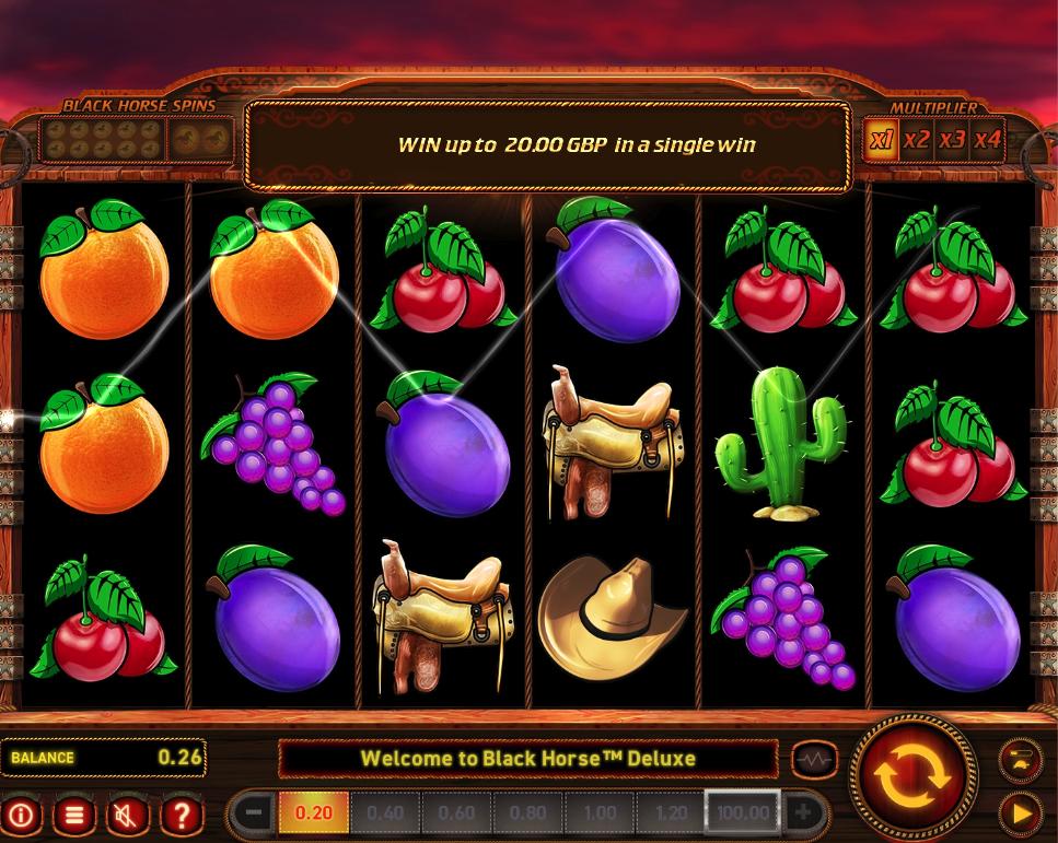 black horse deluxe screenshot