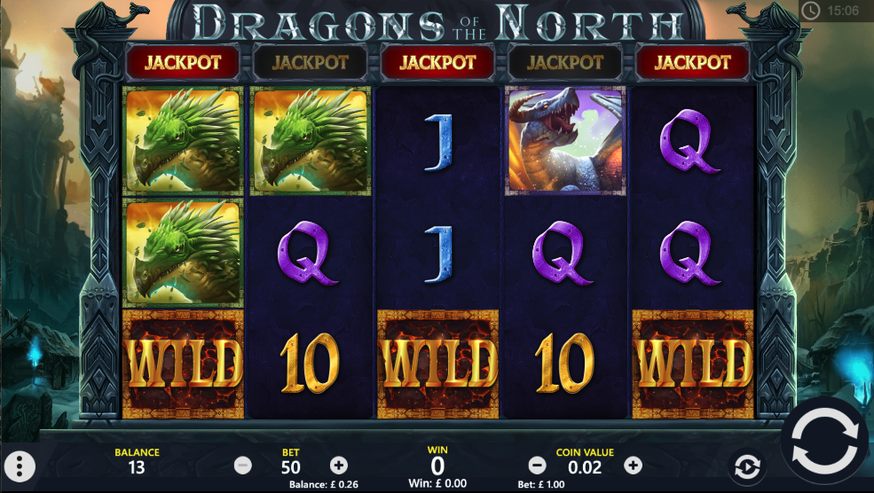 dragons of the north screenshot