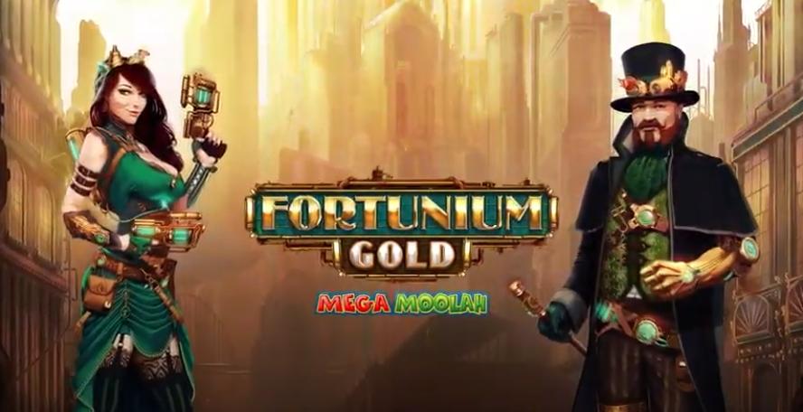 fortunium gold mega moolah preview