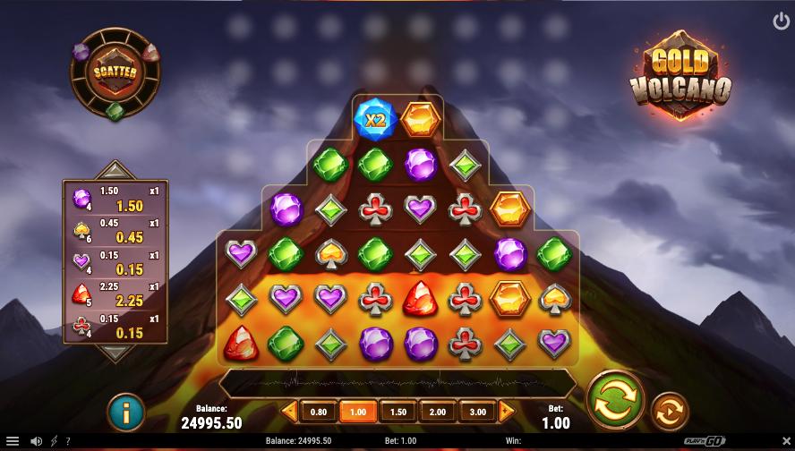 gold volcano screenshot