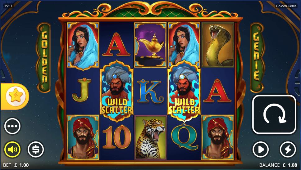 golden genie and the walking wilds screenshot